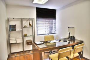 Office space with IT equipment