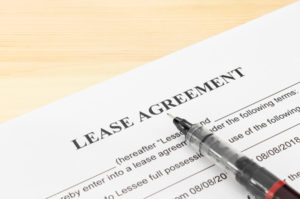 Finalizing the lease agreement can take around 8 weeks