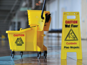 When you move, alert your cleaning company