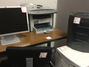 During a move, ask your employees to label their items