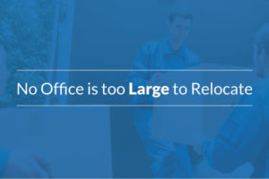 We dedicate our resources to your large office