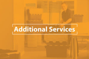 We offer additional services during your large office move