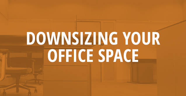 downsizing your office space