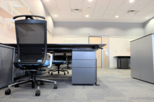 Design your office to capitilize on a opportunity during a move.