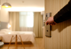 Provide great customer service during hotel renovations.