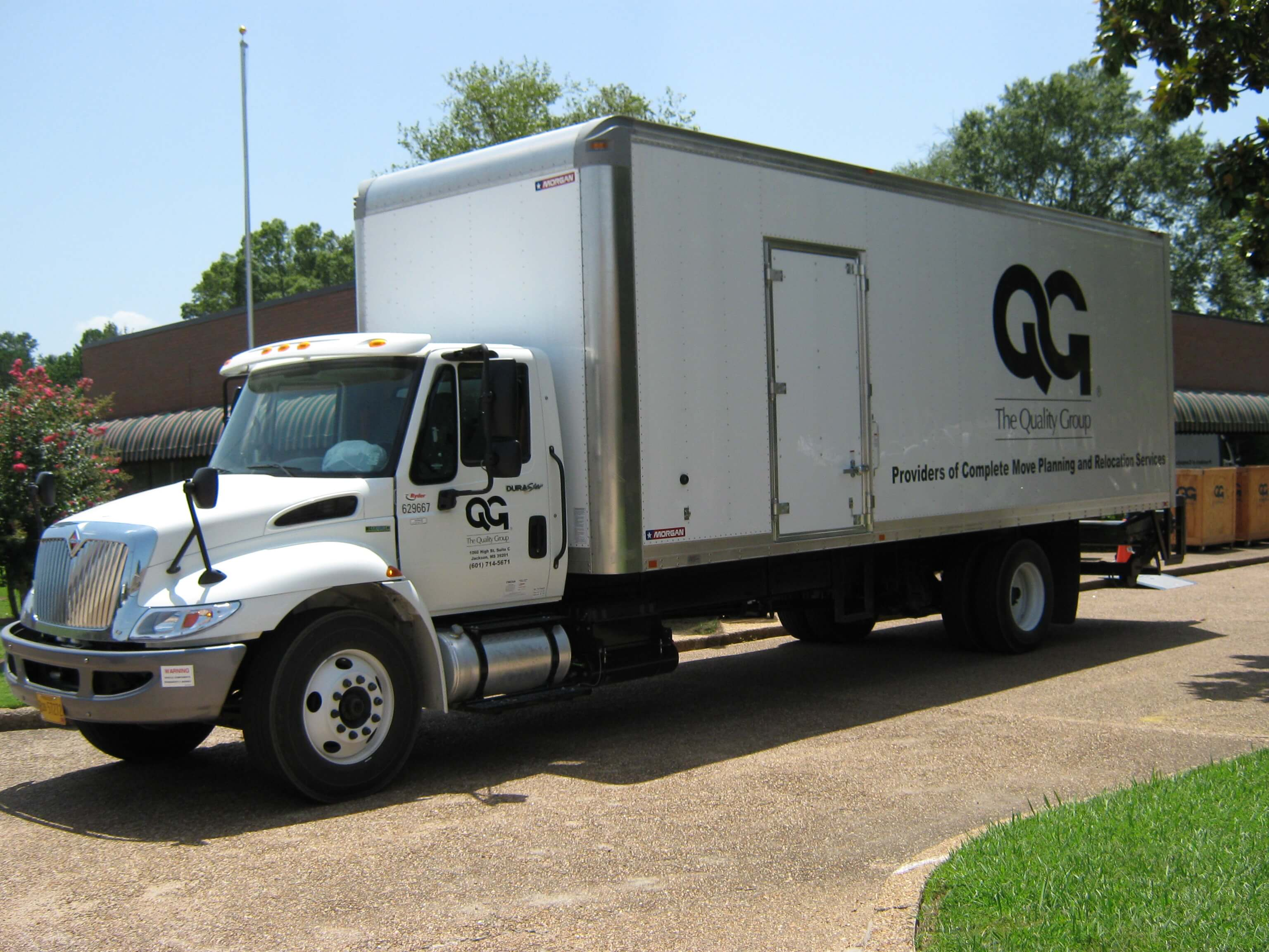 Commercial Moving Company Truck