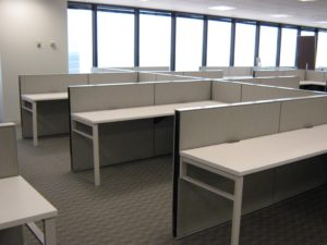 Finished Office Furniture Installation