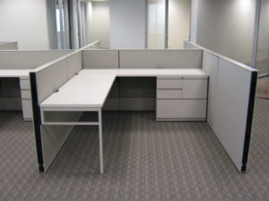 The Quality Group installed modular furniture